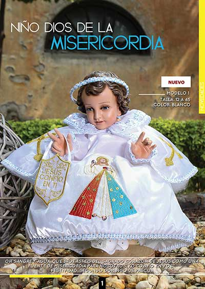 "NINO DIOS DE LA MISERICORDIA 12"" INCLUDE SHIPPING"