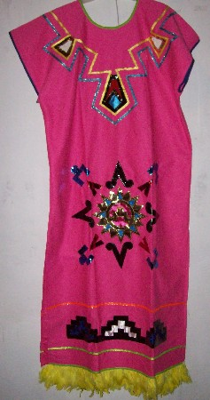 Prehispanic  Dress  kid size