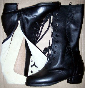 BOOTS DANCE ADELITA KID BLACK