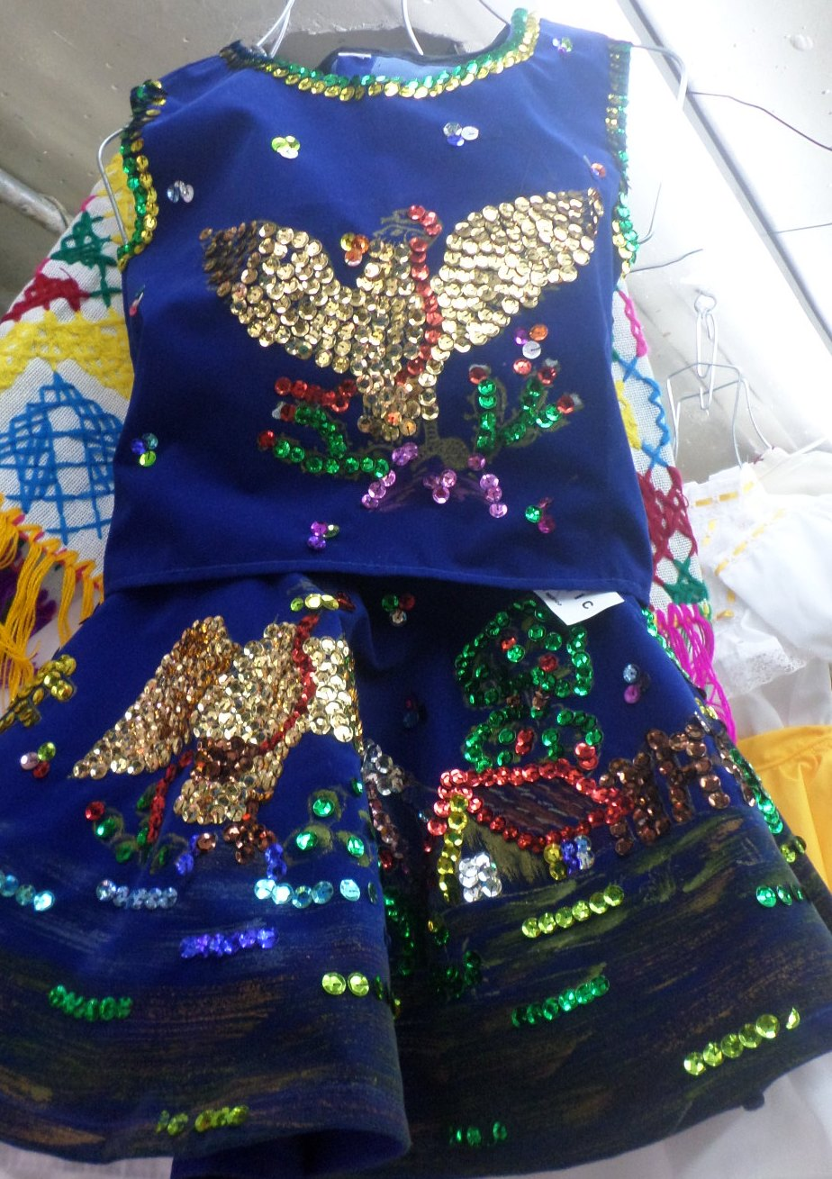 GUADALAJARA DE NOCHE DRESS COSTUME 2 YEARS 20""