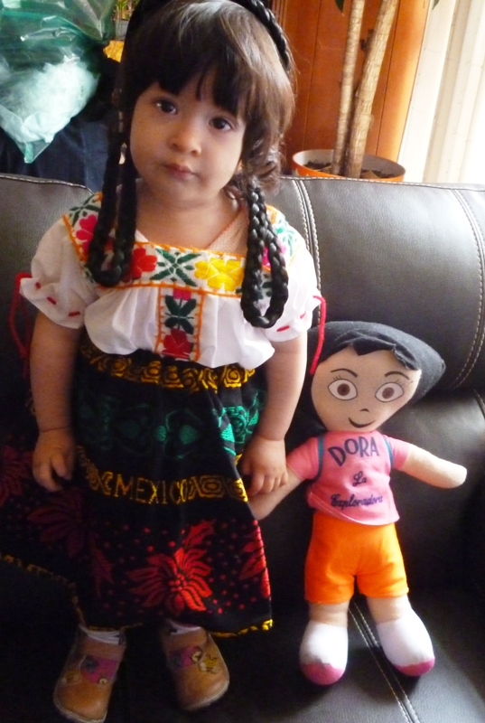 MEXICAN DRESS INDITA COSTUME