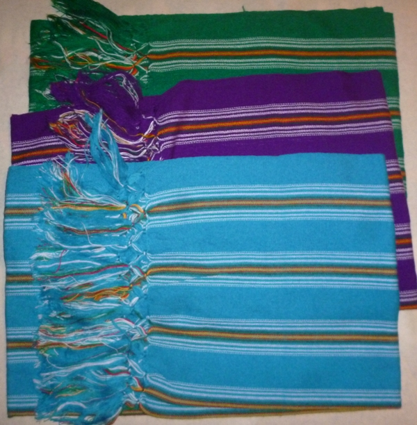 REBOZO ACRILAN STRIPES ADULT SIZE