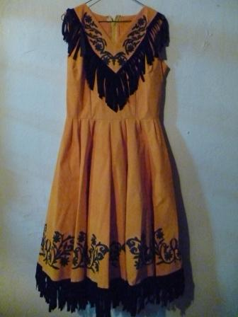 Tamaulipas Campero dress Costume adult size