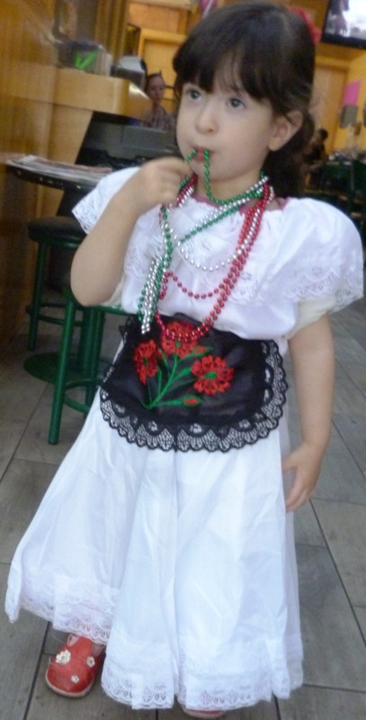 "VERACRUZ DRESS COSTUME 19.5"" ,50CM FOR 5 YEARS"